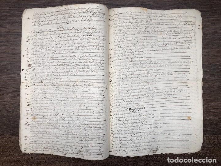 Manuscritos antiguos: AÑO 1645,MADRID. TESTIMONIO E INVENTARIO JUDICIAL. - Foto 4 - 74838747