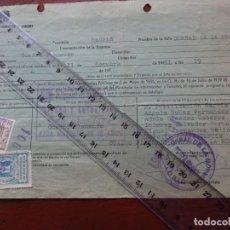 Manuscritos antiguos: FLAMENCO, CORRAL LA MORERÍA, AUTORIZACIÓN ACTUACIÓN CUADRO FLAMENCO, MIGUEL FERNÁNDEZ MOLINA, 1961. Lote 241498845