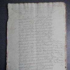 Manuscritos antiguos: MANUSCRITO AÑO 1719 FISCAL 4º NAVA DEL REY Y MEDINA DEL CAMPO VALLADOLID 56 PÁGS. Lote 241680475