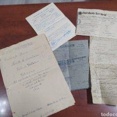 Manuscritos antiguos: DOCUMENTOS ANTIGUOS ,PUEBLO DE TOLLOS ,ALICANTE. Lote 241793235