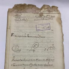 Manuscritos antiguos: ÉCIJA, 1535. ARRENDAMIENTO. CENSO PERPETUO. VER/LEER. Lote 243537560