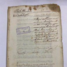 Manuscritos antiguos: ÉCIJA, 1535. ESCRITURA DE CASAS. TESTAMENTO. LEER/VER. Lote 243537785