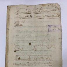 Manuscritos antiguos: ÉCIJA, 1593. MEDIDAS. ESCRITURA. AUTOS. VER/LEER. Lote 243538315