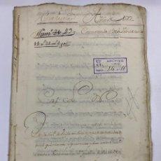 Manuscritos antiguos: ÉCIJA, 1542. MEDIDAS. ESCRITURA. DOTE. OTORGAMIENTO. 5 SELLOS. VER/LEER. Lote 243538745