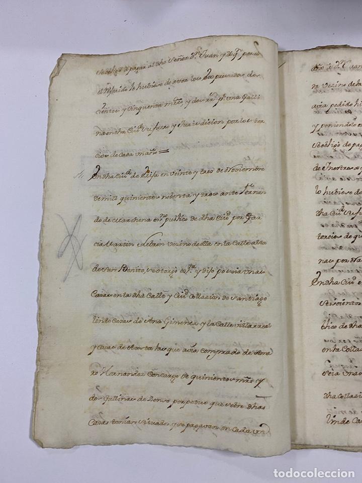 Manuscritos antiguos: ÉCIJA, 1542. MEDIDAS. ESCRITURA. DOTE. OTORGAMIENTO. 5 SELLOS. VER/LEER - Foto 4 - 243538745