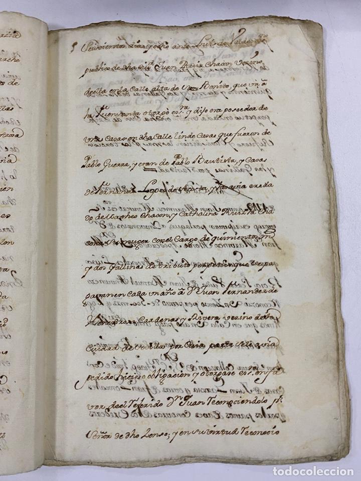 Manuscritos antiguos: ÉCIJA, 1542. MEDIDAS. ESCRITURA. DOTE. OTORGAMIENTO. 5 SELLOS. VER/LEER - Foto 7 - 243538745