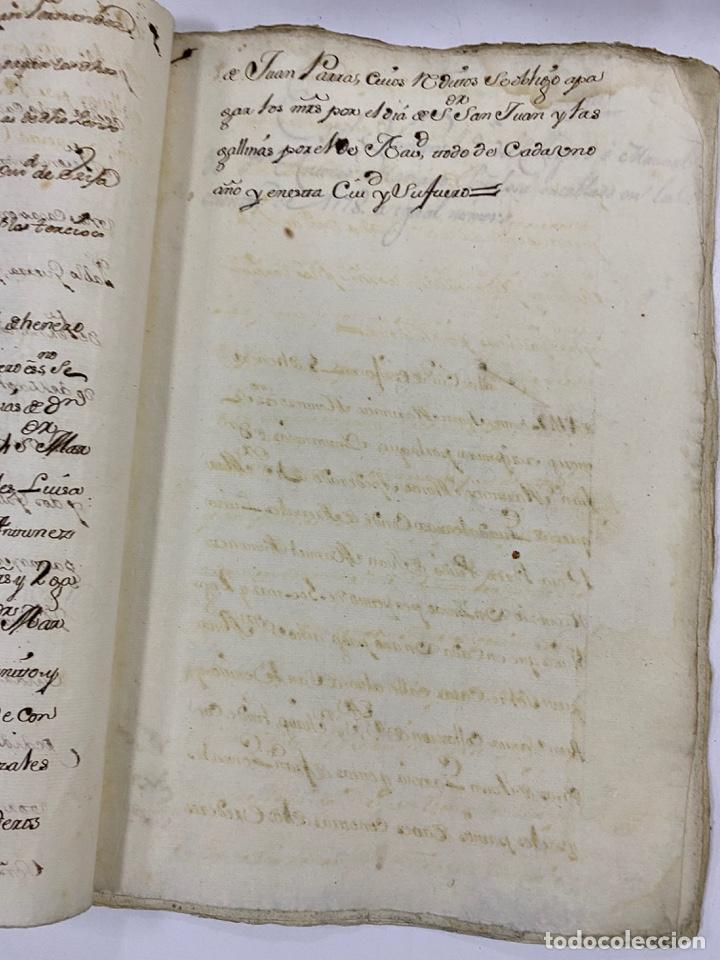 Manuscritos antiguos: ÉCIJA, 1542. MEDIDAS. ESCRITURA. DOTE. OTORGAMIENTO. 5 SELLOS. VER/LEER - Foto 9 - 243538745
