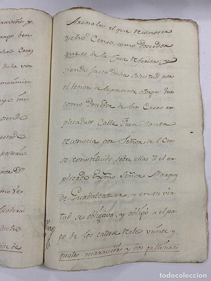 Manuscritos antiguos: ÉCIJA, 1542. MEDIDAS. ESCRITURA. DOTE. OTORGAMIENTO. 5 SELLOS. VER/LEER - Foto 15 - 243538745