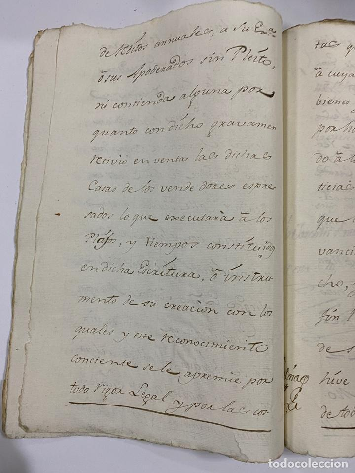 Manuscritos antiguos: ÉCIJA, 1542. MEDIDAS. ESCRITURA. DOTE. OTORGAMIENTO. 5 SELLOS. VER/LEER - Foto 16 - 243538745