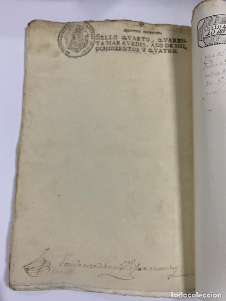 Manuscritos antiguos: ÉCIJA, 1542. MEDIDAS. ESCRITURA. DOTE. OTORGAMIENTO. 5 SELLOS. VER/LEER - Foto 20 - 243538745