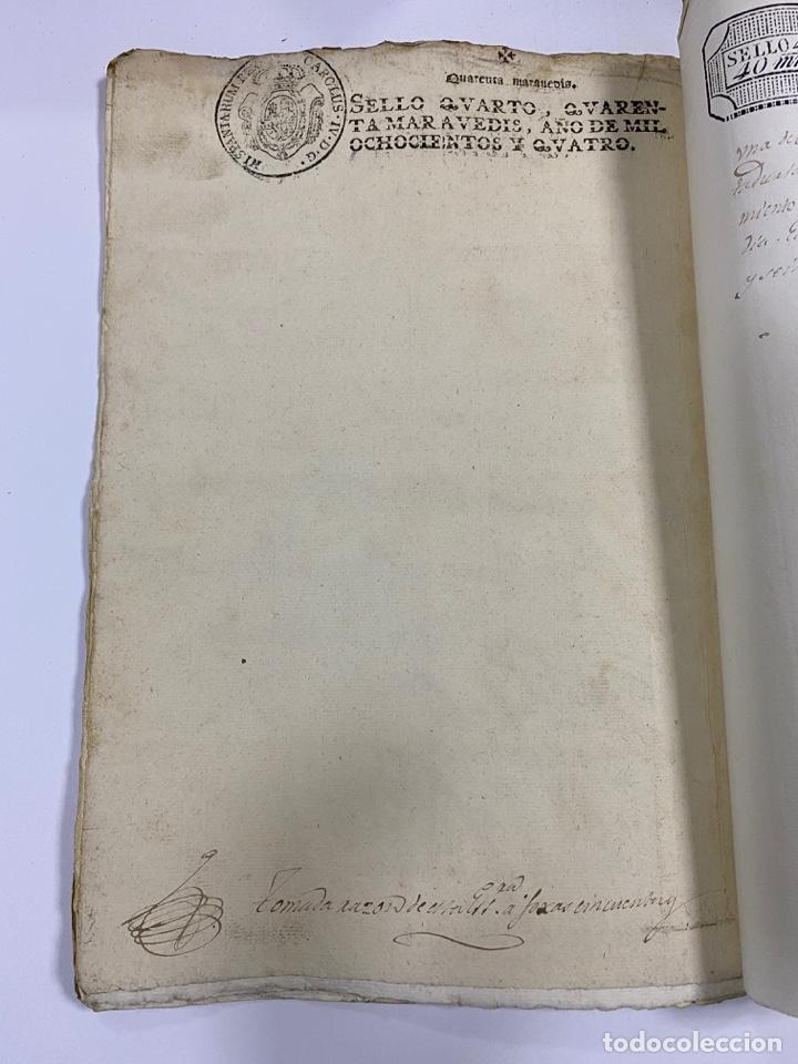 Manuscritos antiguos: ÉCIJA, 1542. MEDIDAS. ESCRITURA. DOTE. OTORGAMIENTO. 5 SELLOS. VER/LEER - Foto 21 - 243538745