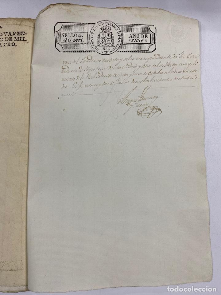 Manuscritos antiguos: ÉCIJA, 1542. MEDIDAS. ESCRITURA. DOTE. OTORGAMIENTO. 5 SELLOS. VER/LEER - Foto 22 - 243538745