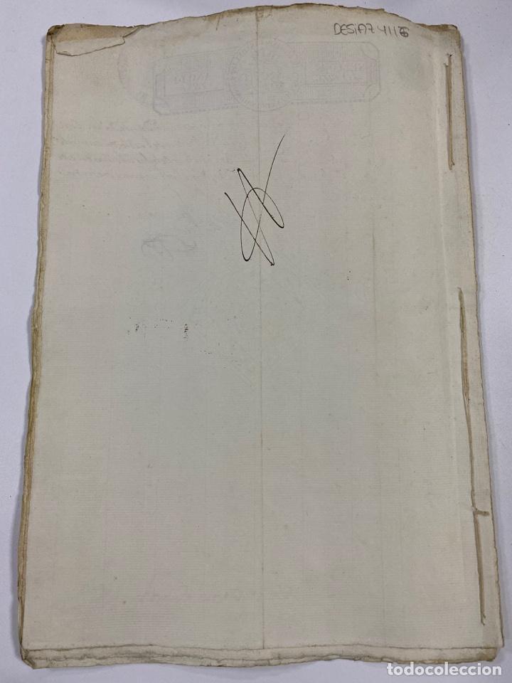 Manuscritos antiguos: ÉCIJA, 1542. MEDIDAS. ESCRITURA. DOTE. OTORGAMIENTO. 5 SELLOS. VER/LEER - Foto 26 - 243538745