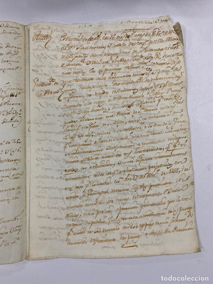Manuscritos antiguos: CADIZ, 1765. MEDIDAS TESTAMENTARIAS. VER/LEER - Foto 3 - 243539150