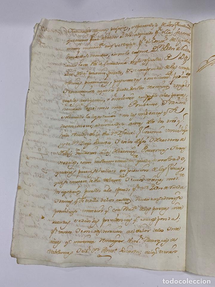 Manuscritos antiguos: CADIZ, 1765. MEDIDAS TESTAMENTARIAS. VER/LEER - Foto 4 - 243539150