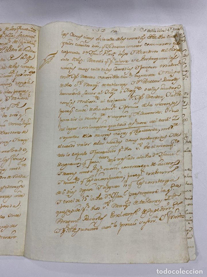 Manuscritos antiguos: CADIZ, 1765. MEDIDAS TESTAMENTARIAS. VER/LEER - Foto 5 - 243539150