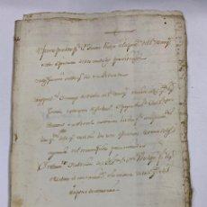 Manuscritos antiguos: CADIZ, 1765. MEDIDAS. MARQUES DE TABLANTES. POSESIONES PERTENECIENTES TESTAMENTARIAS. VER/LEER. Lote 243539850