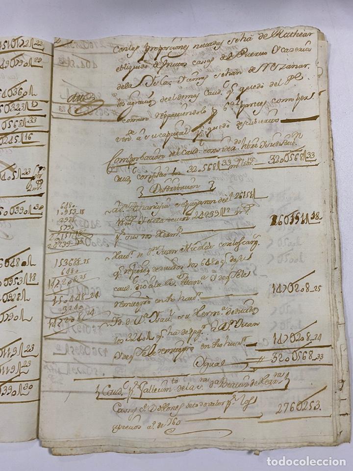 Manuscritos antiguos: CADIZ, 1765. MEDIDAS. DISTRIBUCION DE CAUDALES. AUTOS. VER/LEER - Foto 3 - 243540190