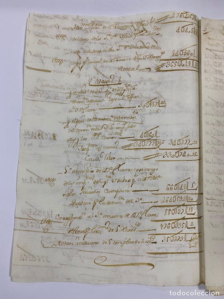 Manuscritos antiguos: CADIZ, 1765. MEDIDAS. DISTRIBUCION DE CAUDALES. AUTOS. VER/LEER - Foto 4 - 243540190