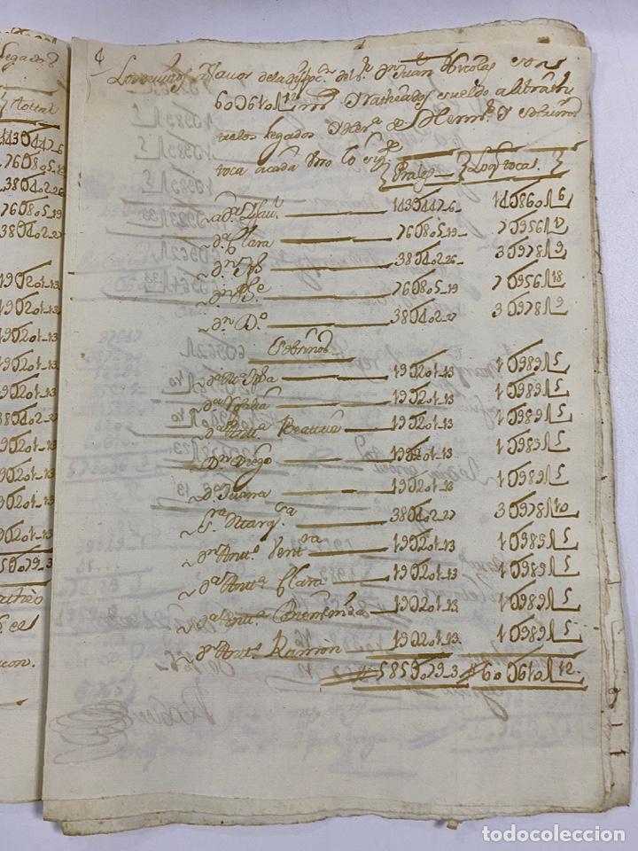 Manuscritos antiguos: CADIZ, 1765. MEDIDAS. DISTRIBUCION DE CAUDALES. AUTOS. VER/LEER - Foto 7 - 243540190