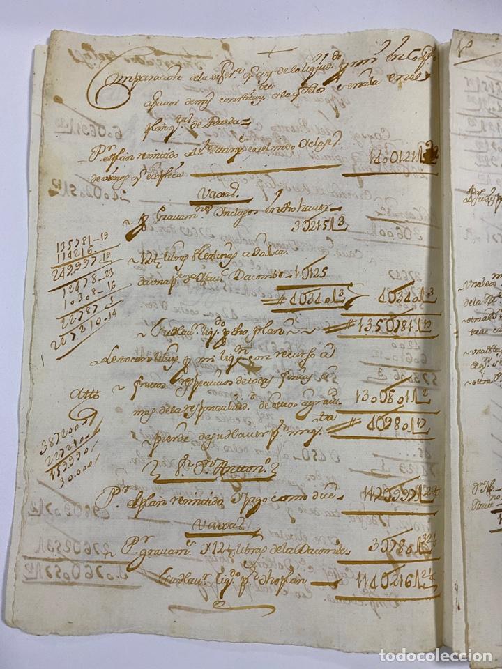Manuscritos antiguos: CADIZ, 1765. MEDIDAS. DISTRIBUCION DE CAUDALES. AUTOS. VER/LEER - Foto 10 - 243540190