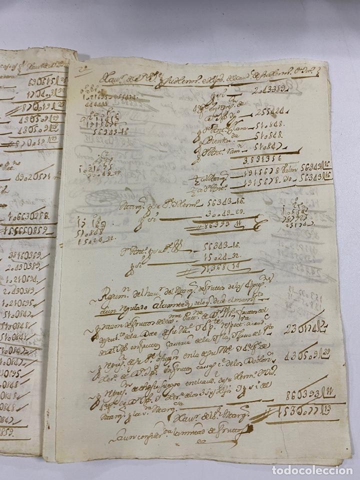 Manuscritos antiguos: CADIZ, 1765. MEDIDAS. DISTRIBUCION DE CAUDALES. AUTOS. VER/LEER - Foto 13 - 243540190