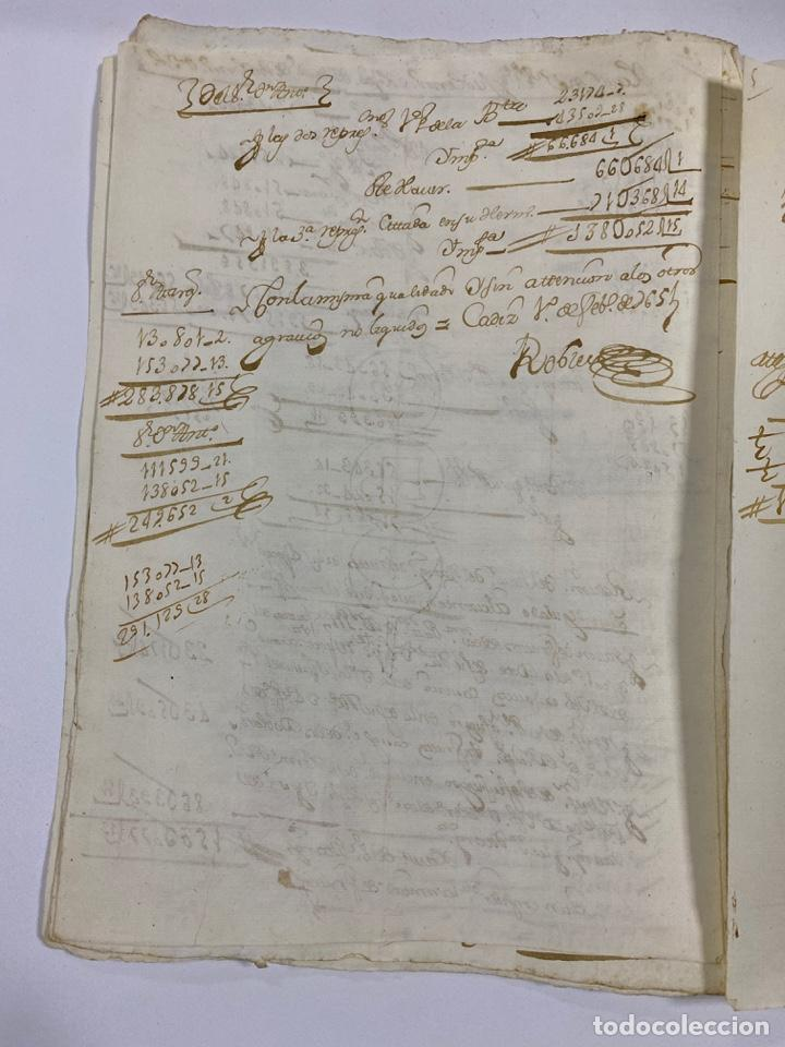 Manuscritos antiguos: CADIZ, 1765. MEDIDAS. DISTRIBUCION DE CAUDALES. AUTOS. VER/LEER - Foto 14 - 243540190