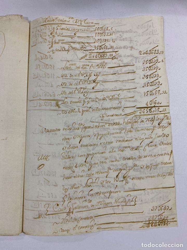 Manuscritos antiguos: CADIZ, 1765. MEDIDAS. DISTRIBUCION DE CAUDALES. AUTOS. VER/LEER - Foto 18 - 243540190