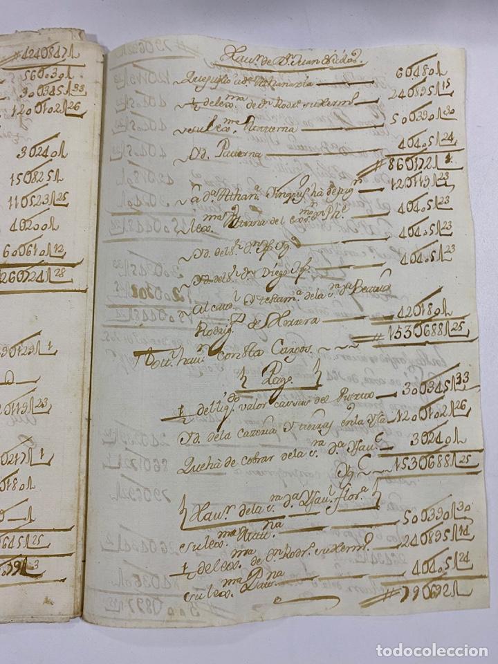 Manuscritos antiguos: CADIZ, 1765. MEDIDAS. DISTRIBUCION DE CAUDALES. AUTOS. VER/LEER - Foto 20 - 243540190