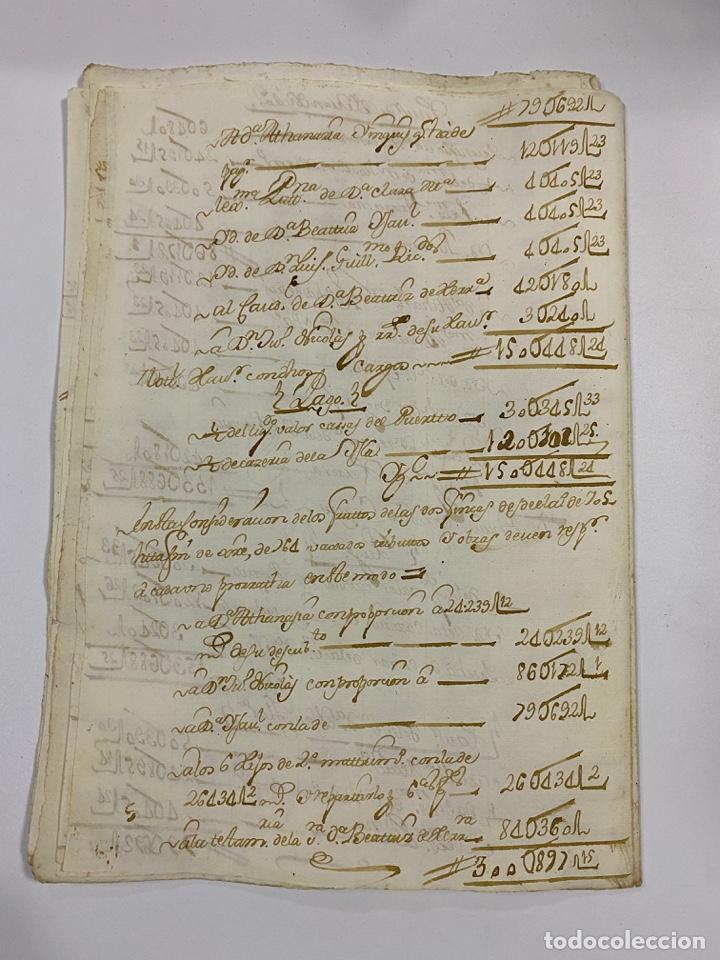 Manuscritos antiguos: CADIZ, 1765. MEDIDAS. DISTRIBUCION DE CAUDALES. AUTOS. VER/LEER - Foto 21 - 243540190
