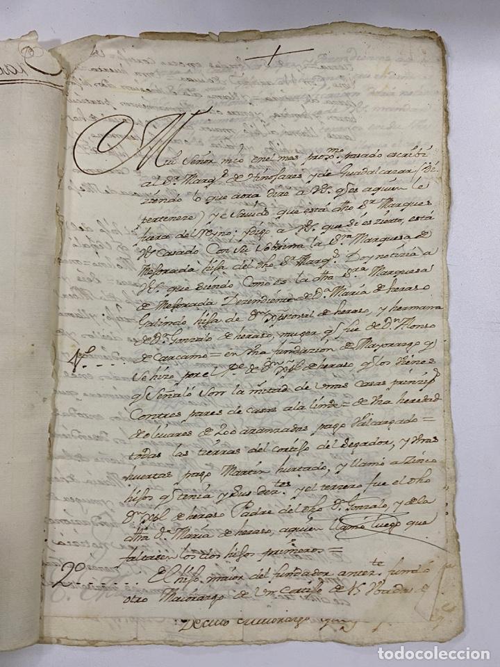 Manuscritos antiguos: 1771. MEDIDAS GENERAL DE LA REAL ARMADA. VER/LEER - Foto 2 - 243542485
