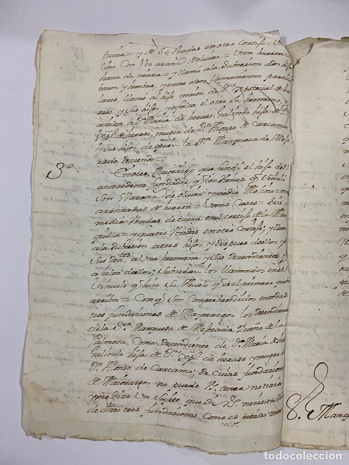 Manuscritos antiguos: 1771. MEDIDAS GENERAL DE LA REAL ARMADA. VER/LEER - Foto 3 - 243542485
