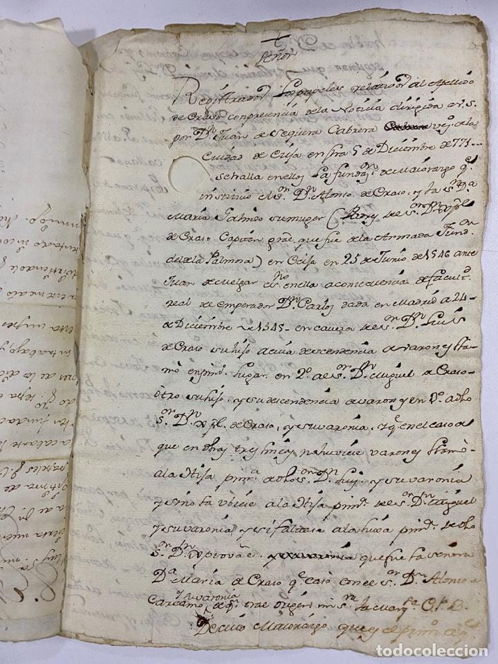 Manuscritos antiguos: 1771. MEDIDAS GENERAL DE LA REAL ARMADA. VER/LEER - Foto 6 - 243542485