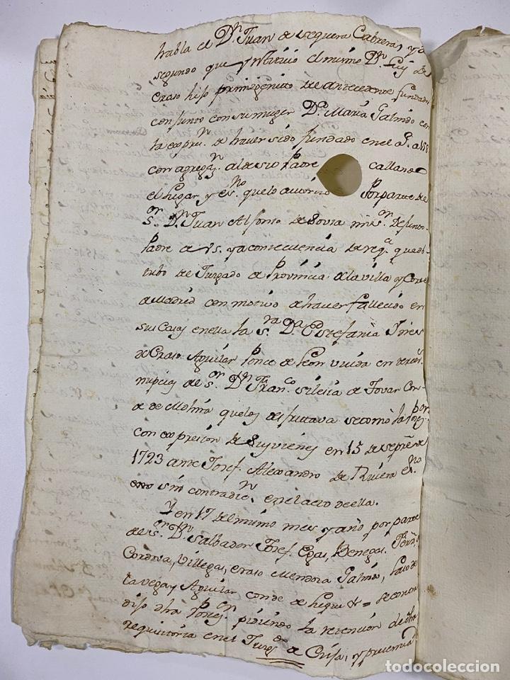 Manuscritos antiguos: 1771. MEDIDAS GENERAL DE LA REAL ARMADA. VER/LEER - Foto 7 - 243542485