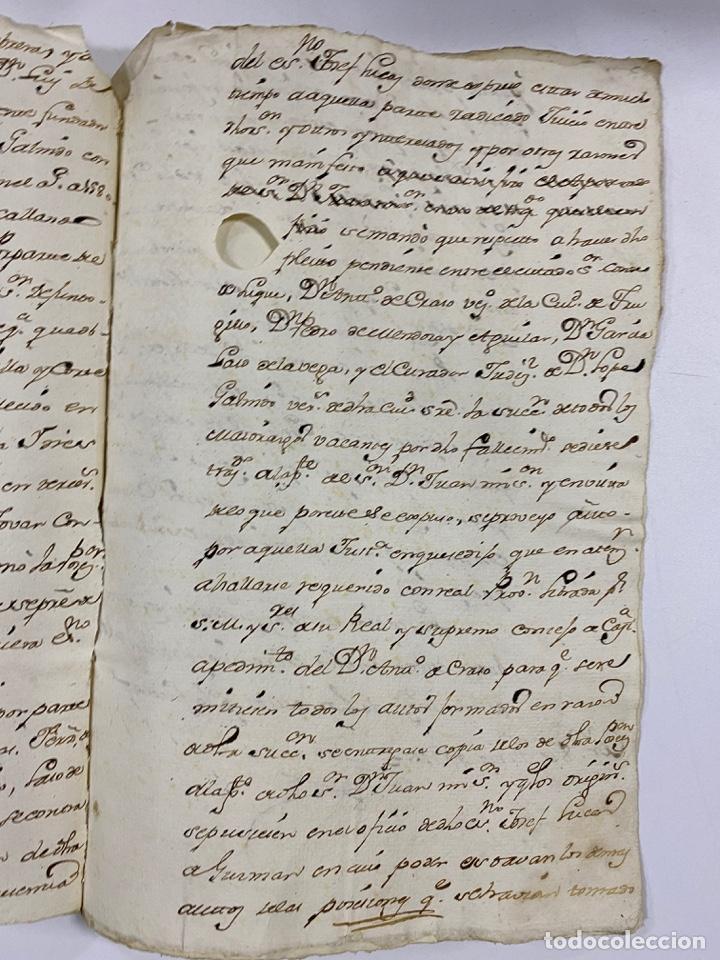 Manuscritos antiguos: 1771. MEDIDAS GENERAL DE LA REAL ARMADA. VER/LEER - Foto 8 - 243542485