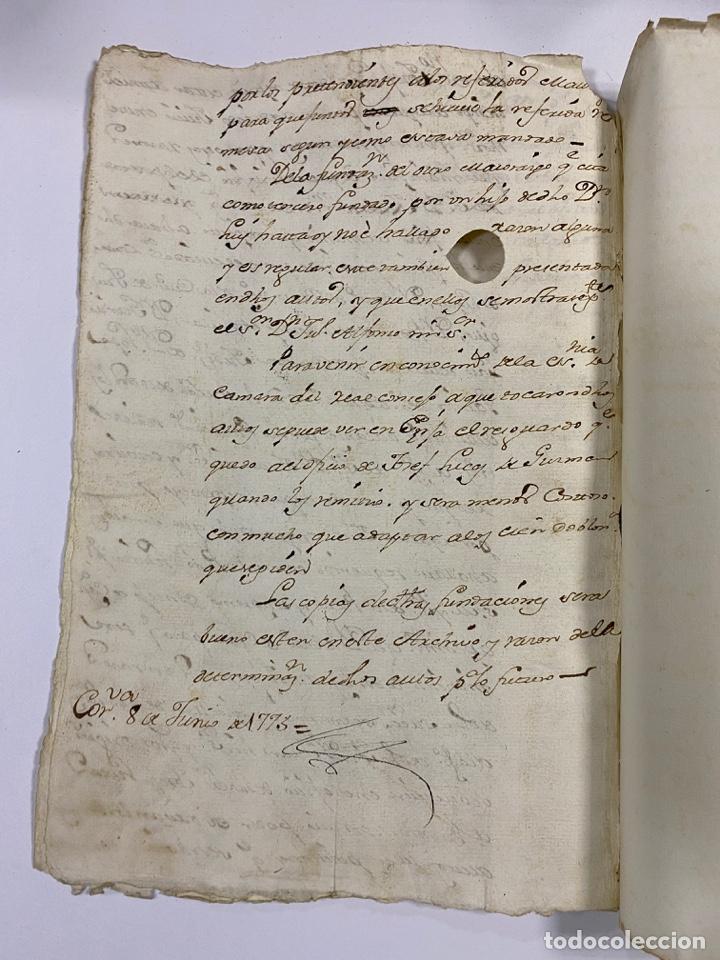 Manuscritos antiguos: 1771. MEDIDAS GENERAL DE LA REAL ARMADA. VER/LEER - Foto 9 - 243542485