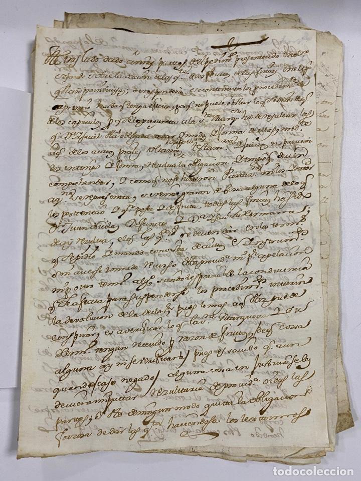 Manuscritos antiguos: CADIZ, 1765. DACIÓN DE BIENES. VARIOS DOCUMENTOS. 2 SELLOS-TIMBRES. VER/LEER - Foto 2 - 243543215
