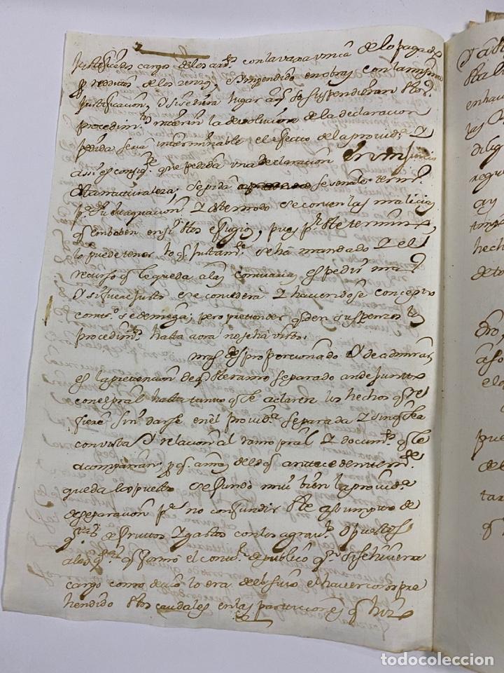 Manuscritos antiguos: CADIZ, 1765. DACIÓN DE BIENES. VARIOS DOCUMENTOS. 2 SELLOS-TIMBRES. VER/LEER - Foto 3 - 243543215