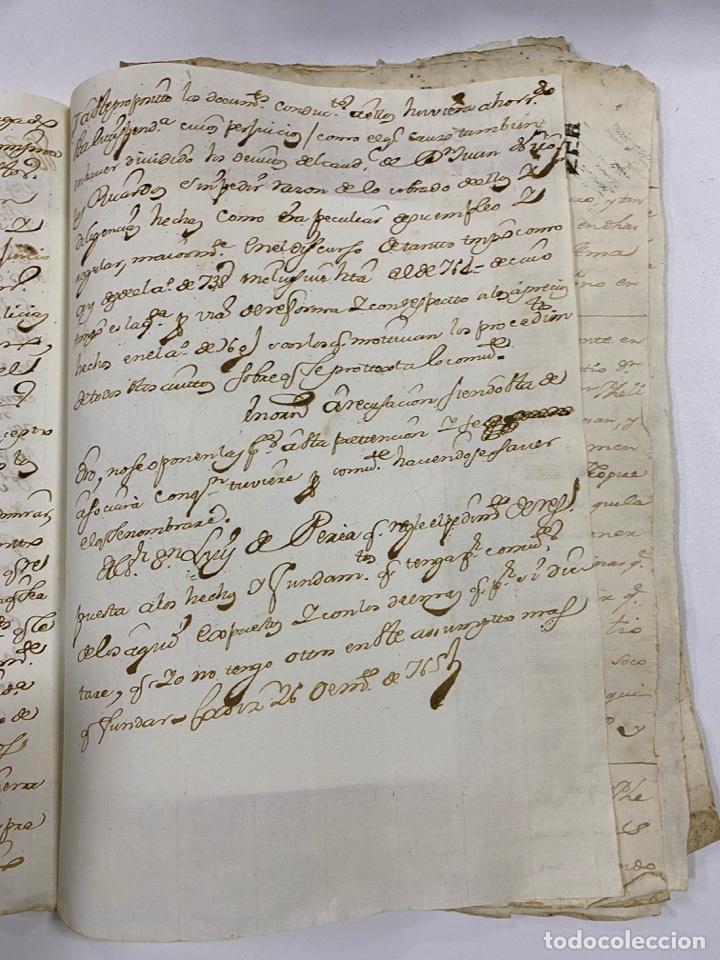 Manuscritos antiguos: CADIZ, 1765. DACIÓN DE BIENES. VARIOS DOCUMENTOS. 2 SELLOS-TIMBRES. VER/LEER - Foto 4 - 243543215