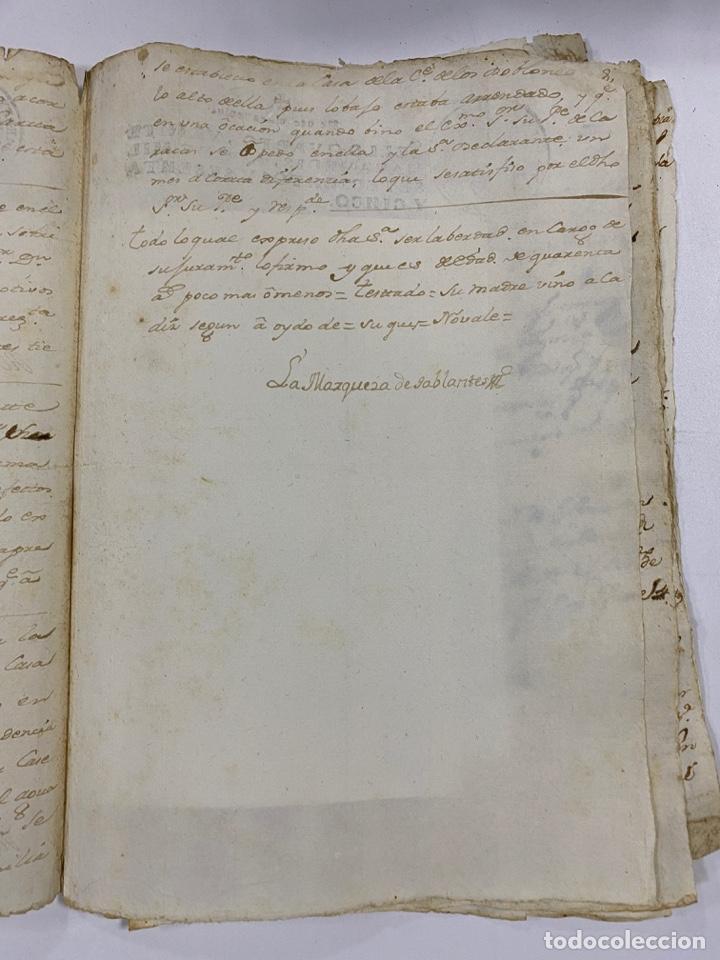 Manuscritos antiguos: CADIZ, 1765. DACIÓN DE BIENES. VARIOS DOCUMENTOS. 2 SELLOS-TIMBRES. VER/LEER - Foto 8 - 243543215