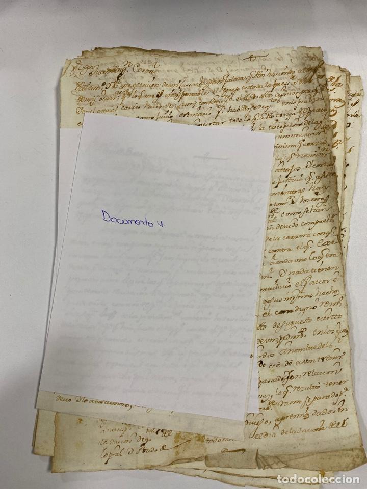 Manuscritos antiguos: CADIZ, 1765. DACIÓN DE BIENES. VARIOS DOCUMENTOS. 2 SELLOS-TIMBRES. VER/LEER - Foto 12 - 243543215