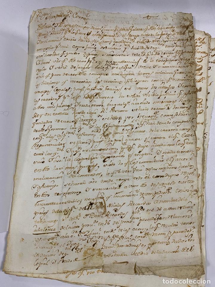 Manuscritos antiguos: CADIZ, 1765. DACIÓN DE BIENES. VARIOS DOCUMENTOS. 2 SELLOS-TIMBRES. VER/LEER - Foto 16 - 243543215