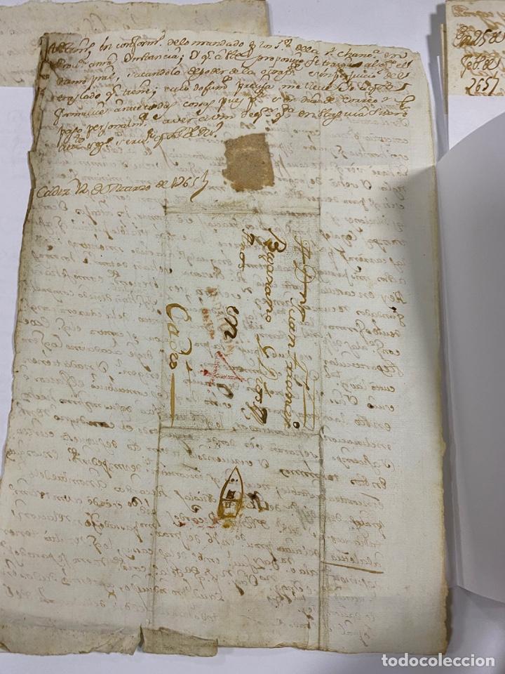 Manuscritos antiguos: CADIZ, 1765. DACIÓN DE BIENES. VARIOS DOCUMENTOS. 2 SELLOS-TIMBRES. VER/LEER - Foto 17 - 243543215