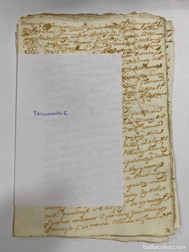 Manuscritos antiguos: CADIZ, 1765. DACIÓN DE BIENES. VARIOS DOCUMENTOS. 2 SELLOS-TIMBRES. VER/LEER - Foto 18 - 243543215