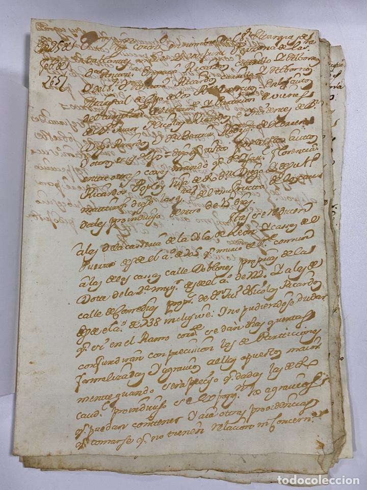 Manuscritos antiguos: CADIZ, 1765. DACIÓN DE BIENES. VARIOS DOCUMENTOS. 2 SELLOS-TIMBRES. VER/LEER - Foto 19 - 243543215