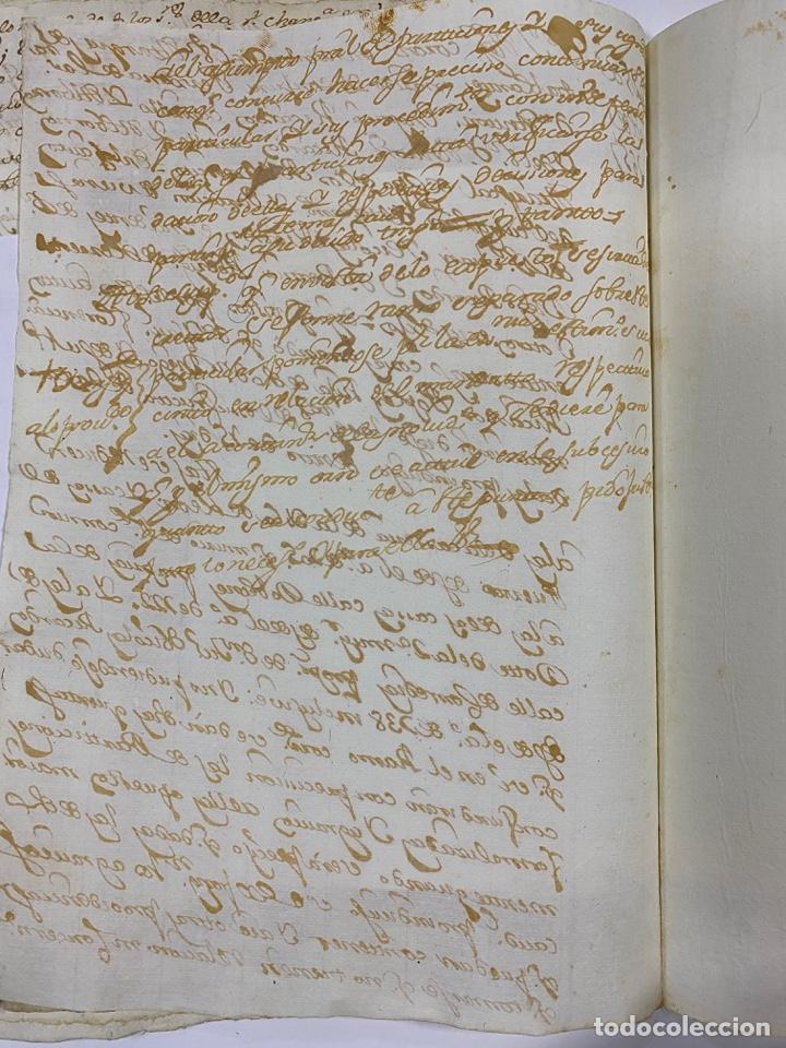 Manuscritos antiguos: CADIZ, 1765. DACIÓN DE BIENES. VARIOS DOCUMENTOS. 2 SELLOS-TIMBRES. VER/LEER - Foto 20 - 243543215