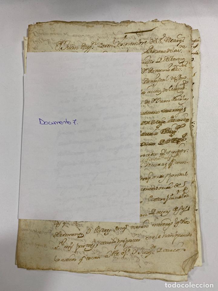 Manuscritos antiguos: CADIZ, 1765. DACIÓN DE BIENES. VARIOS DOCUMENTOS. 2 SELLOS-TIMBRES. VER/LEER - Foto 21 - 243543215