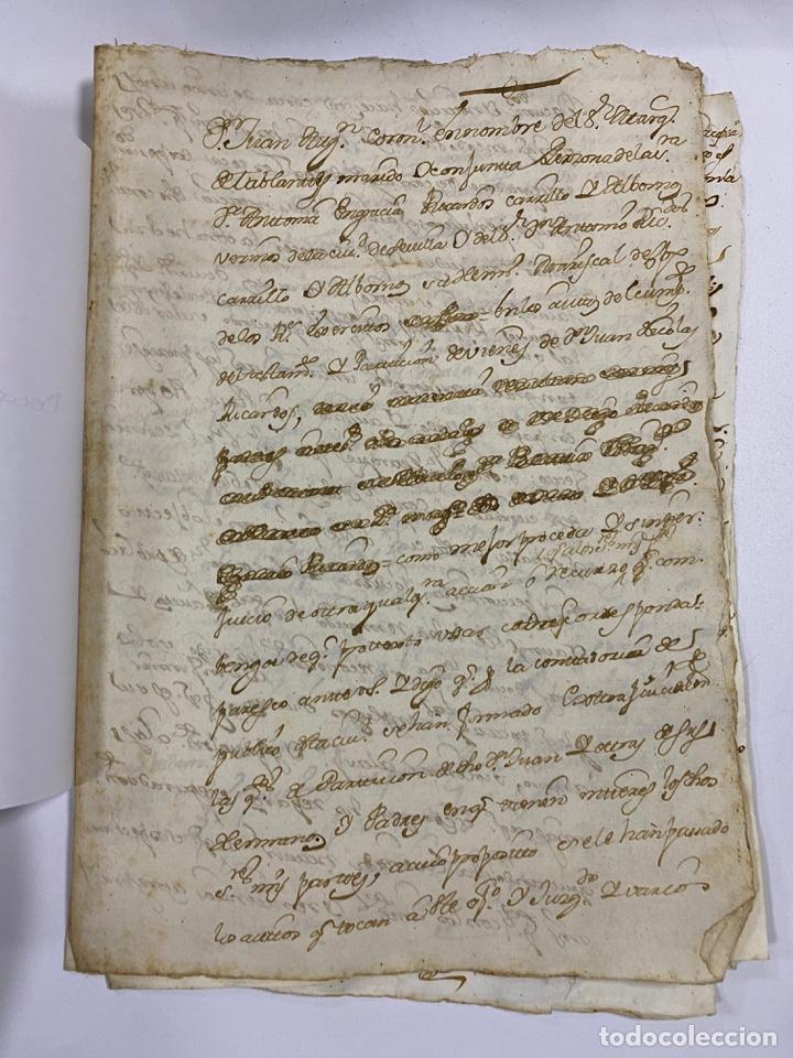 Manuscritos antiguos: CADIZ, 1765. DACIÓN DE BIENES. VARIOS DOCUMENTOS. 2 SELLOS-TIMBRES. VER/LEER - Foto 22 - 243543215