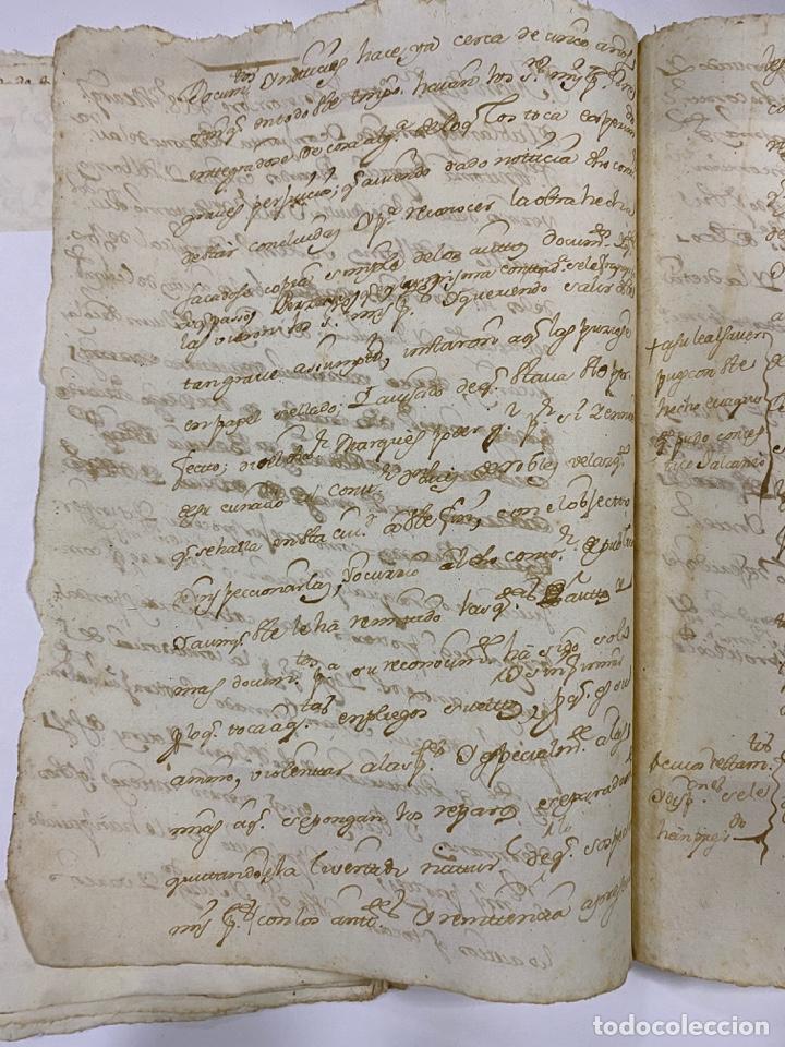 Manuscritos antiguos: CADIZ, 1765. DACIÓN DE BIENES. VARIOS DOCUMENTOS. 2 SELLOS-TIMBRES. VER/LEER - Foto 23 - 243543215
