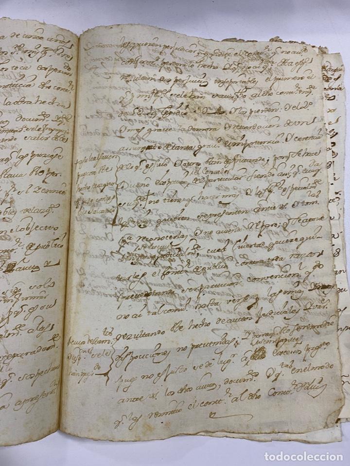 Manuscritos antiguos: CADIZ, 1765. DACIÓN DE BIENES. VARIOS DOCUMENTOS. 2 SELLOS-TIMBRES. VER/LEER - Foto 24 - 243543215